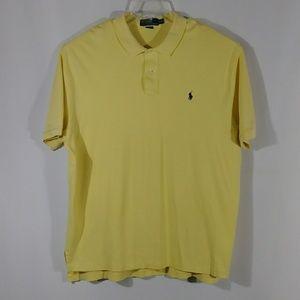 Polo by Ralph Lauren yellow shirt men's size XXL